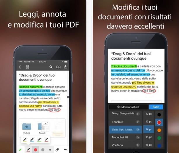 PDF Expert per iOS Giveaway [5 codici per App Store]