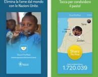 ShareTheMeal, l'app per combattere la fame nel mondo