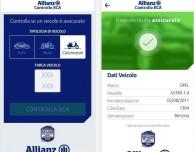 Come verificare in tempo reale su iPhone se un veicolo è assicurato