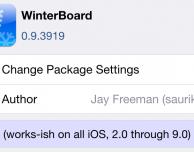 Winterboard è compatibile con iOS 9: sbizzarritevi con i temi – Cydia