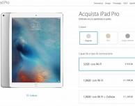 iPad Pro disponibile all'acquisto
