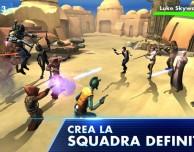 """""""Star Wars: Galaxy of Heroes"""": un RPG """"galattico"""""""