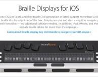 Negli Apple Store arriveranno i primi prodotti per l'accessibilità