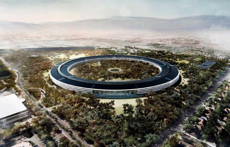 Apple Campus 2: i progressi sul cantiere
