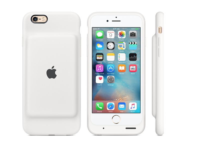 custodia bianca carica batteria iphone 6s