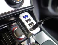 Caricatore da auto Inateck con 4 porte USB in offerta su Amazon