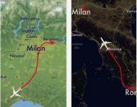 Moving Map, l'app che mostra la posizione dei tuoi voli