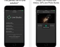 Live Studio è l'app che racchiude tutte le operazioni utili da eseguire con le Live Photos
