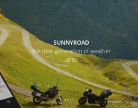 SunnyRoad, una nuova app meteo per chi viaggia