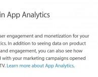 """App Analytics"" disponibile anche per le app per tvOS"