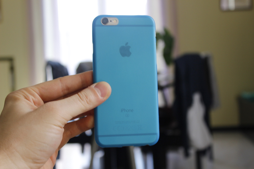 cover azzurra iphone 6s