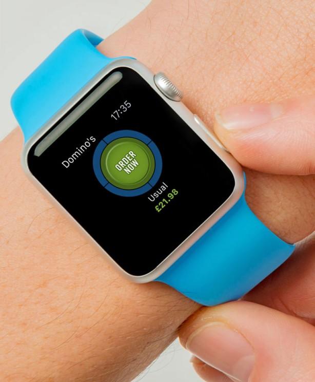 Domino's Pizza attiva l'Easy Order anche su Apple Watch