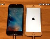 iOS 9.2 vs iOS 9.3 – Le prestazioni a confronto