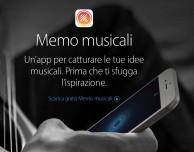 """Apple lancia l'applicazione """"Memo musicali"""" e aggiorna GarageBand"""