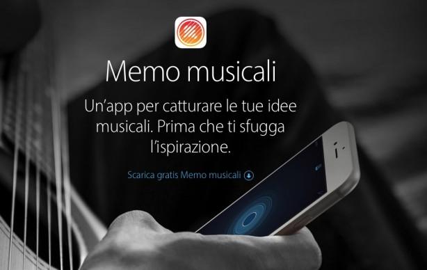 memo musicali apple