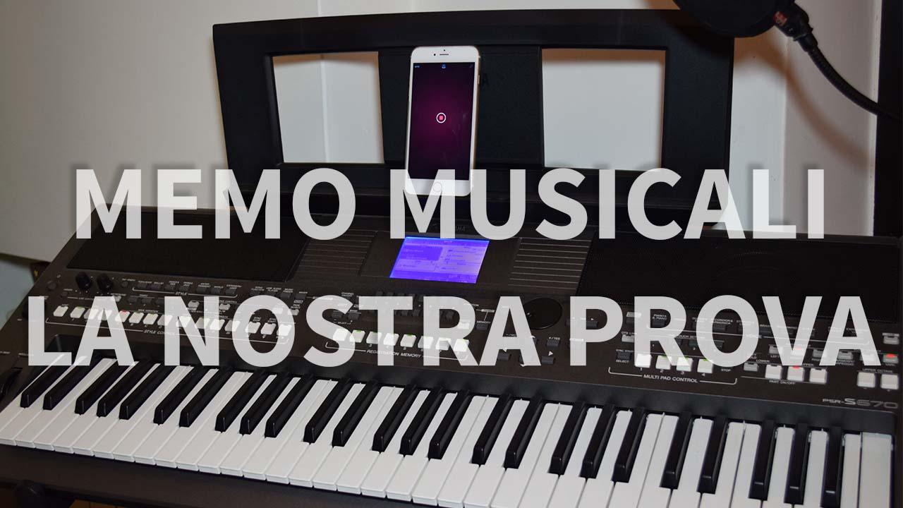 Memo musicali: abbiamo provato per voi la nuova app di Apple!