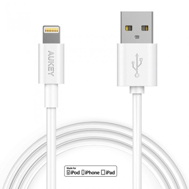 Cavo Lightning AUKEI da 3 metri, certificato Apple, ora a soli 12,89€