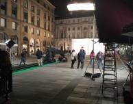 Iniziate le riprese per lo spot dell'Apple Store a Milano