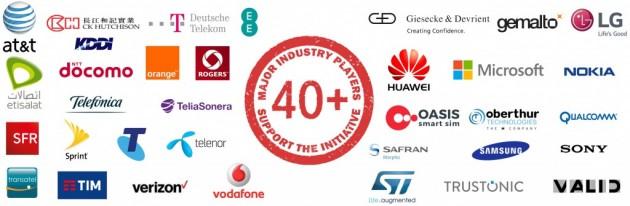 Logos-v4-apple-samsung-telefonica-vodafone-ee-etisalat-rogers-sony-micrsoft-teliasonera-telit-ck-dt-att-lg-orange-tim-st-safron-morpho-huawei-telenor-sfr-sprint-verizon-oberthur-1024x335