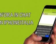 """""""Un'ora in Chat con iPhoneItalia"""": questa sera dalle 22.00 alle 23.00 chatta con il nostro staff"""
