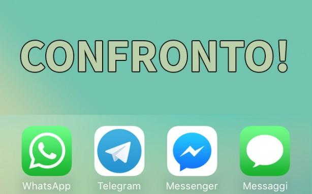 WhatsApp vs Telegram vs Facebook Messenger vs iMes    | BitFeed co