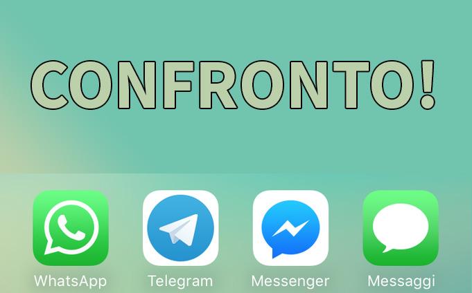WhatsApp vs Telegram vs Facebook Messenger vs iMessage: qual è l'app di messaggistica migliore?