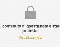 Come proteggere le note su iOS 9.3?