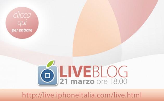 LIVE: segui con iPhoneItalia l'evento Apple del 21 Marzo! [LIVE]