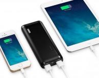 Acquista in offerta l'alimentatore con 2 porte USB e la batteria esterna 13.000 mAh di Anker