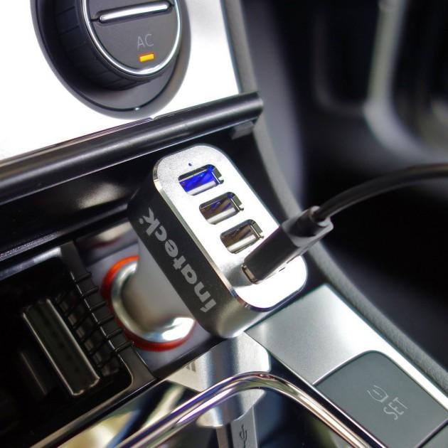 Caricabatterie da auto Inateck in offerta con sconto iPhoneItalia
