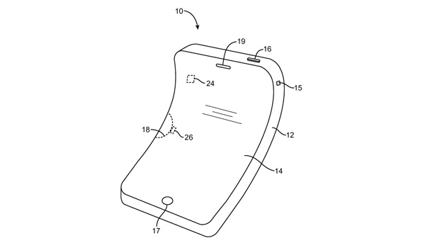 Apple registra il brevetto per iPhone e device flessibili