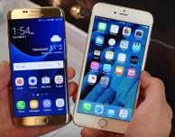 iPhone 6s VS Samsung Galaxy S7: test d'impermeabilità