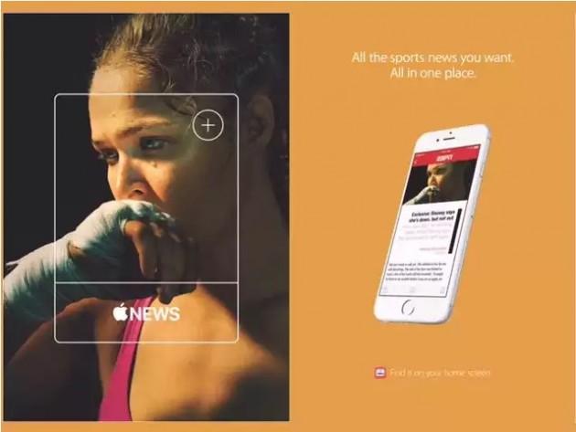 Apple News: avviata una nuova campagna pubblicitaria in USA