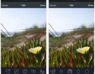 Rendarya9, un completissimo editor fotografico direttamente in Immagini – Cydia