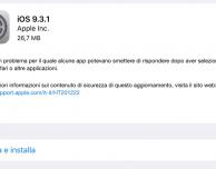 Apple rilascia iOS 9.3.1 e corregge il problema dei link in Safari!