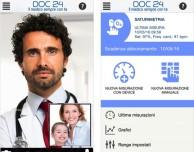 DOC 24, la prima app che porta il medico su smartphone