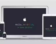Scarica i wallpaper dedicati al WWDC 2016 di Apple