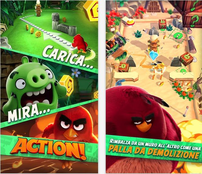 Rovio rilascia angry birds action nuovo gioco in attesa del film iphone italia - Angry birds gioco da tavolo istruzioni ...
