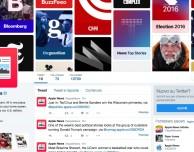 Apple News apre l'account Twitter