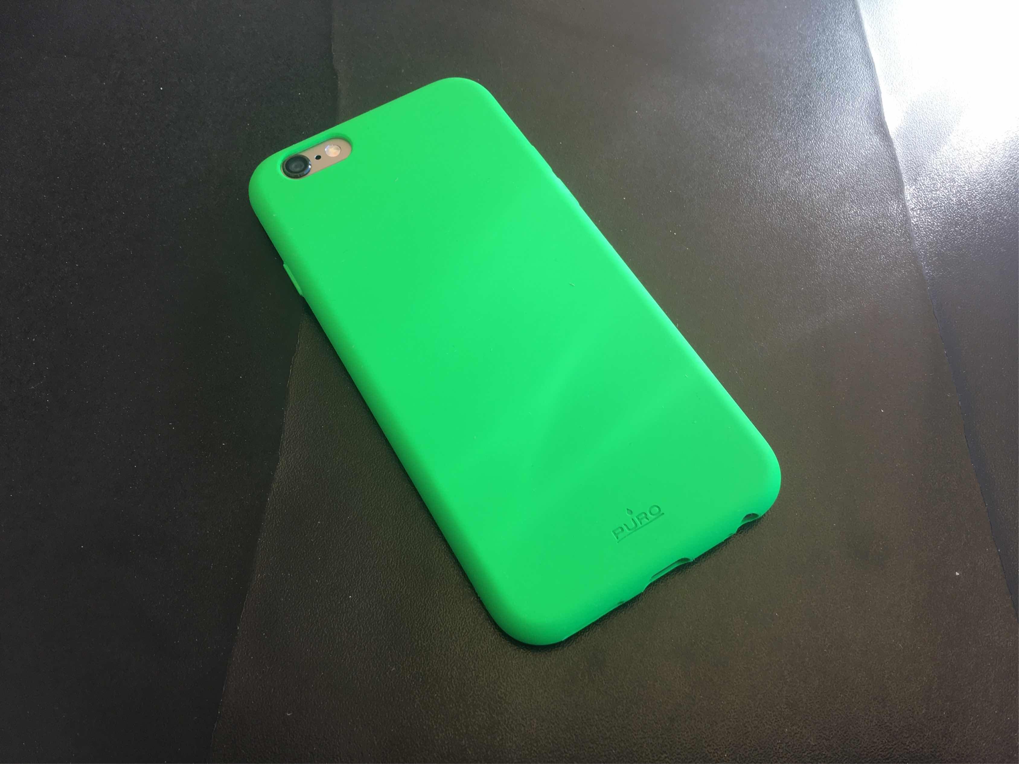 PURO Custodia soft-touch per iPhone 6