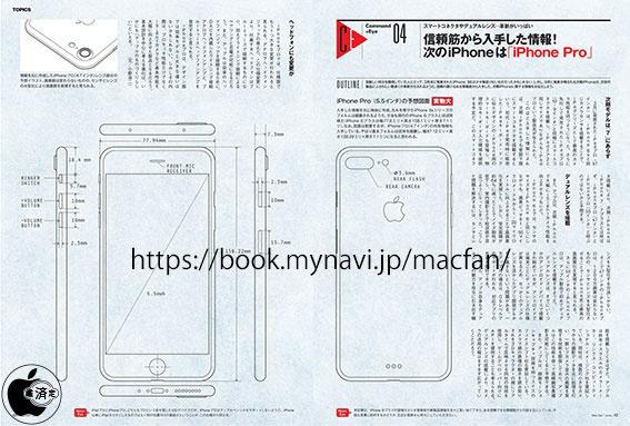 IPhone 7 Plus compare in un disegno progettuale