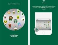 Starbucks lancia la propria tastiera su AppStore!