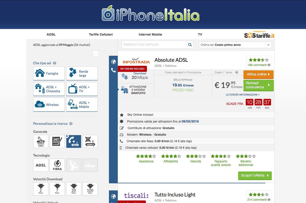 Quali sono le migliori offerte adsl in italia - Quali sono le cucine migliori ...