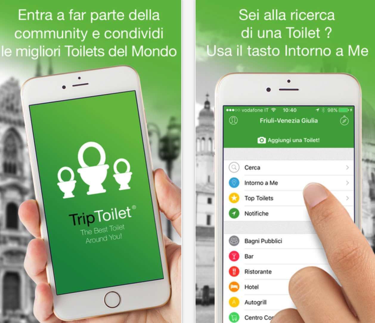 TripToilet: il TripAdvisor dei... bagni - iPhone Italia