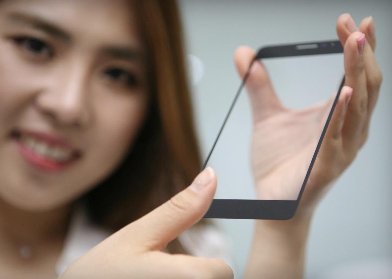 LG incorpora il lettore di impronte digitali direttamente nel vetro del display