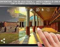 Pompeii Touch, l'app che ricostruisce l'antica Pompei
