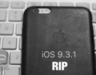 Apple chiude le firme di iOS 9.3.1