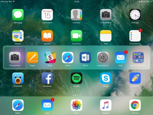 app switcher ipad