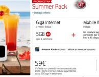 Summer Pack, la nuova offerta Vodafone per navigare in 4G