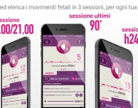 Baby Moves, un'app per monitorare i movimenti del feto nel grembo
